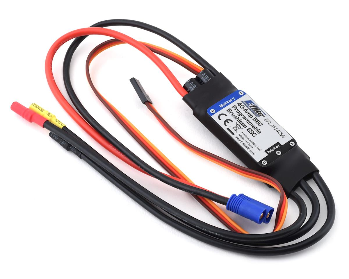 E-flite 40A ESC w/ EC3 | relatedproducts