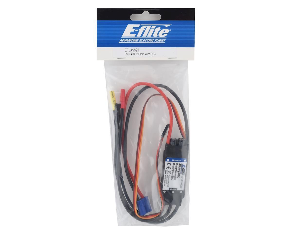 E-flite 40A ESC w/ EC3