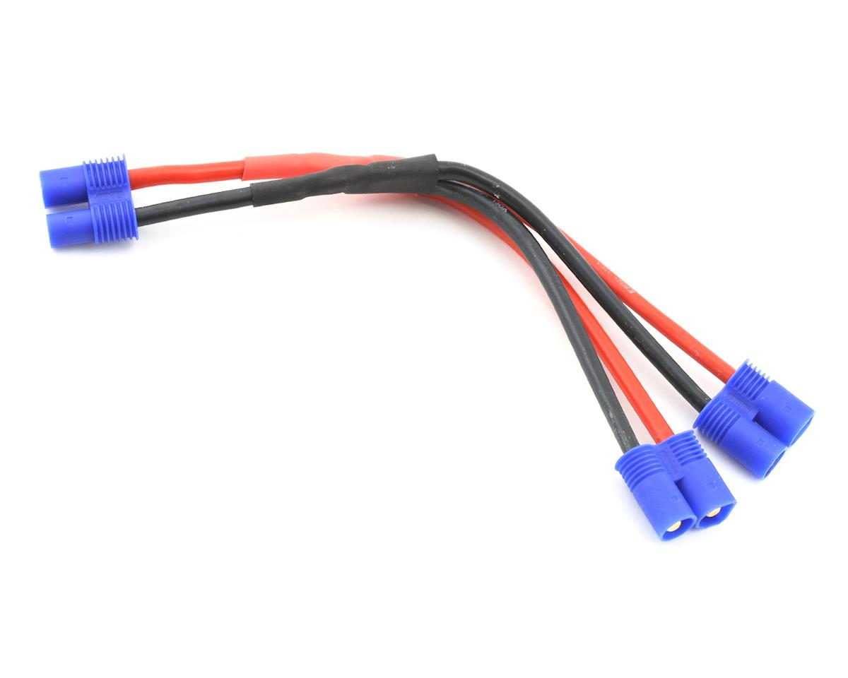 E Flite Ec3 Battery Parallel Y Harness 13ga Eflaec307 Wiring Batteries In Helicopters Heliproz