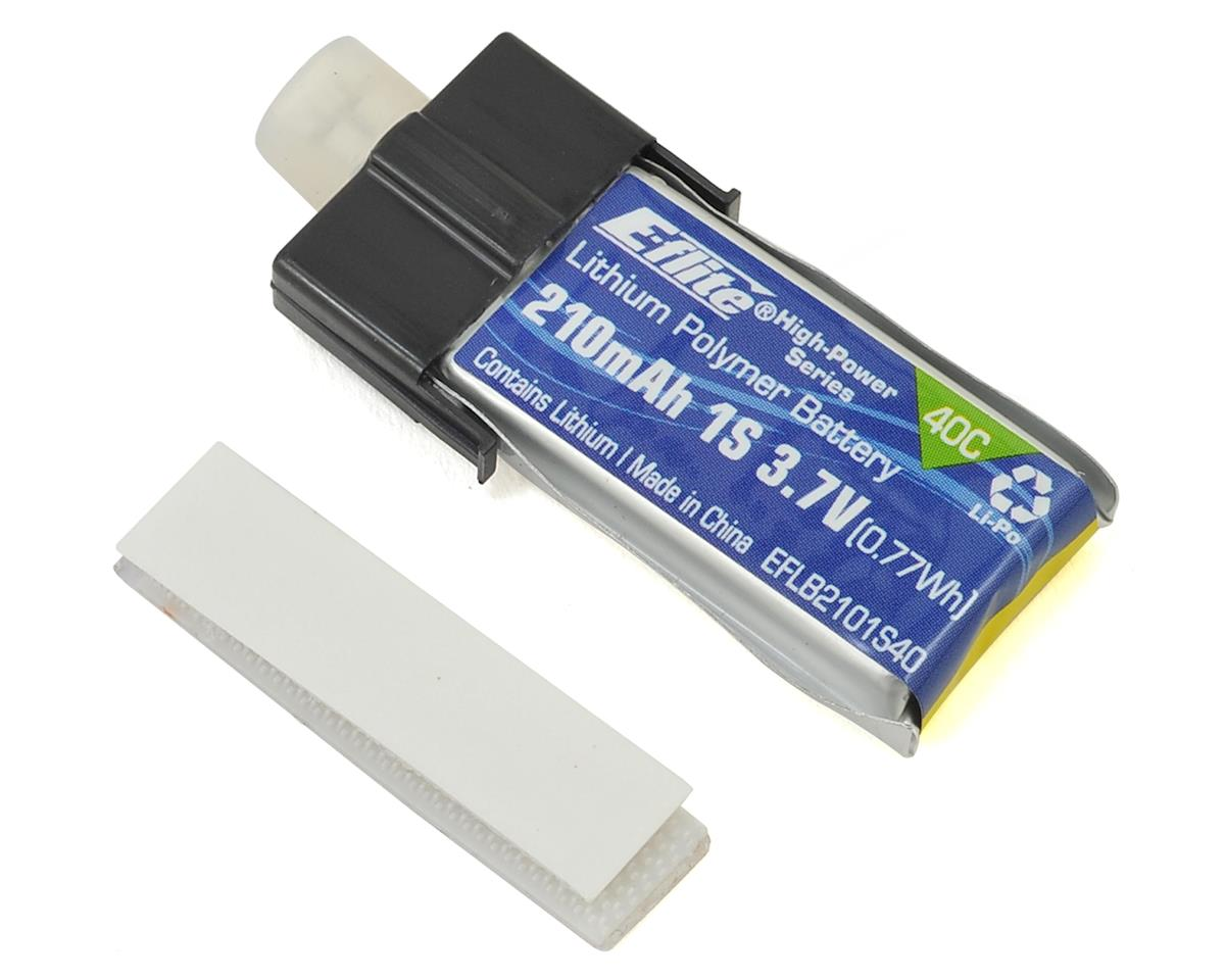 1S LiPo Battery 40C (3.7V/210mAh) by E-flite