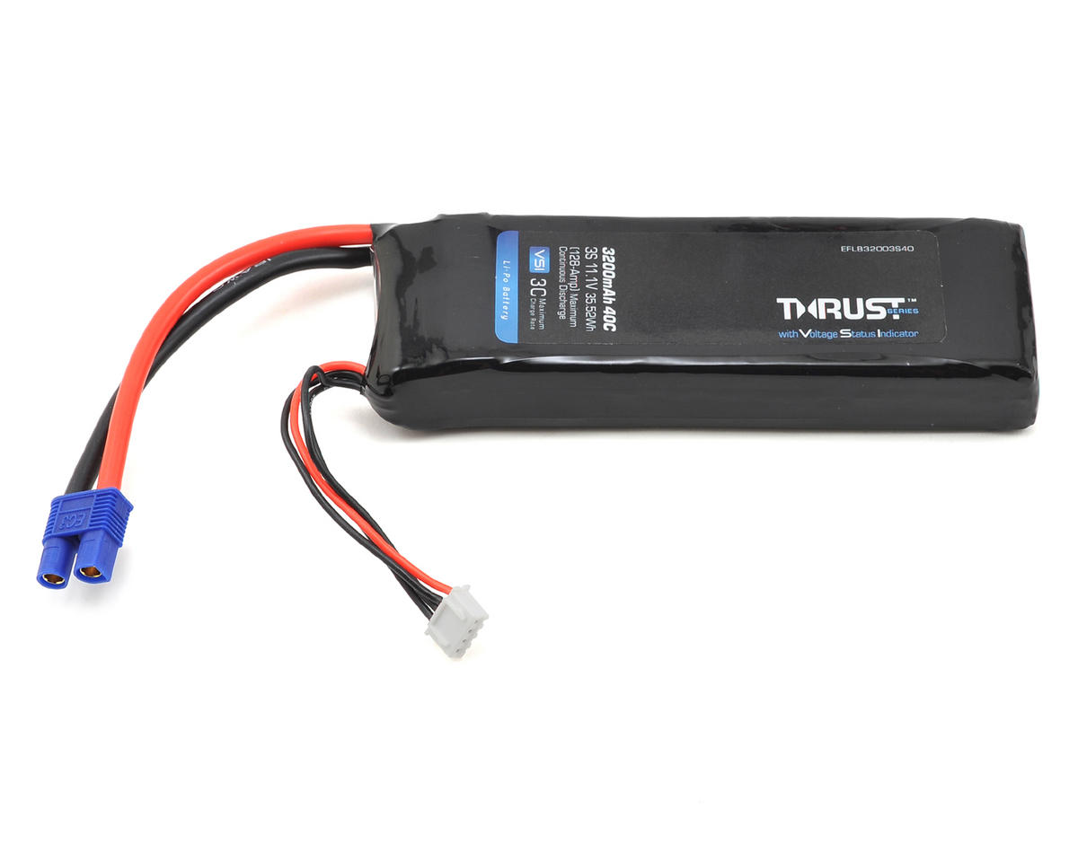 E-flite Thrust VSI 3S 40C LiPo Battery Pack (11.1V/3200mAh) (EC3)