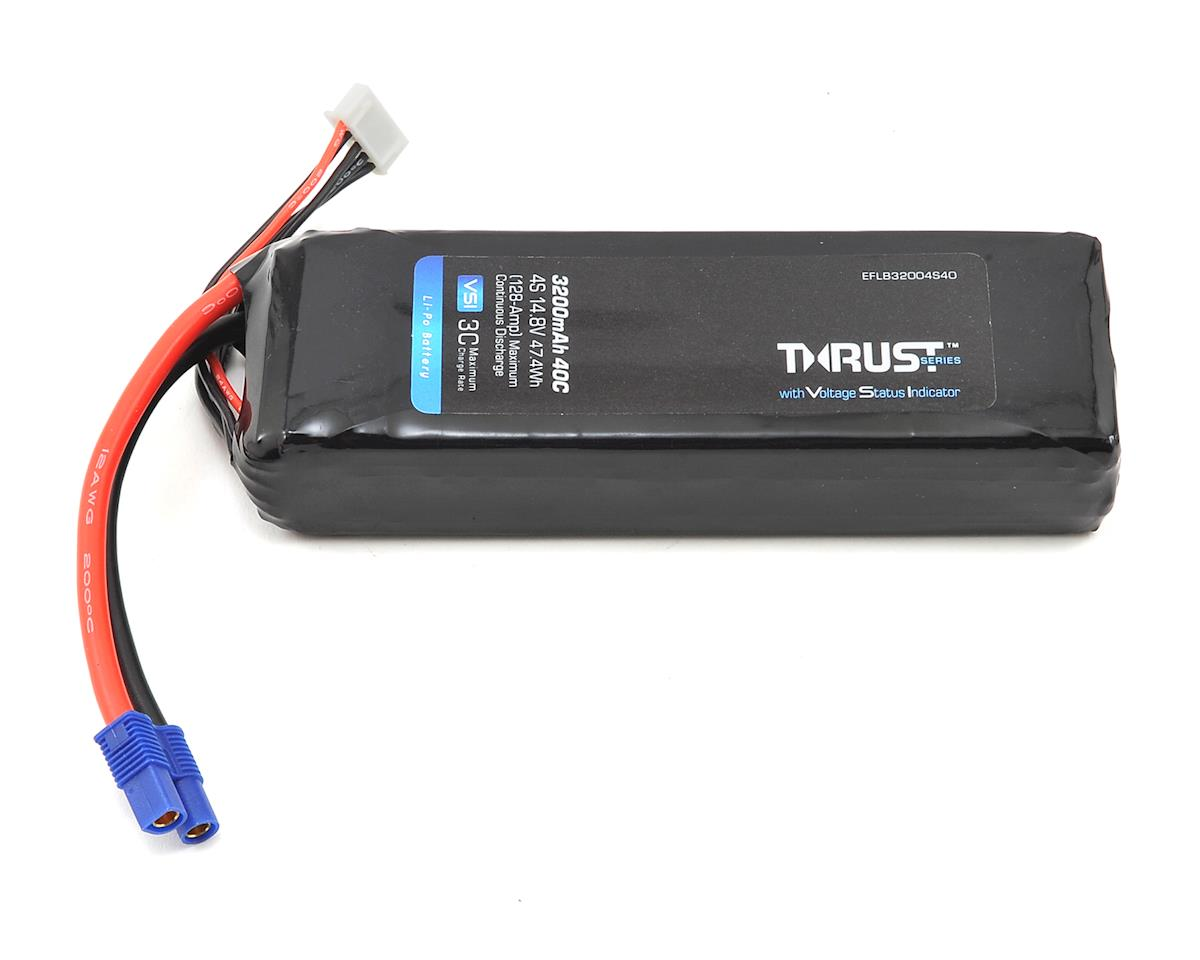 Thrust VSI 4S LiPo 40C Battery Pack (14.8V/3200mAh) (EC3) by E-flite