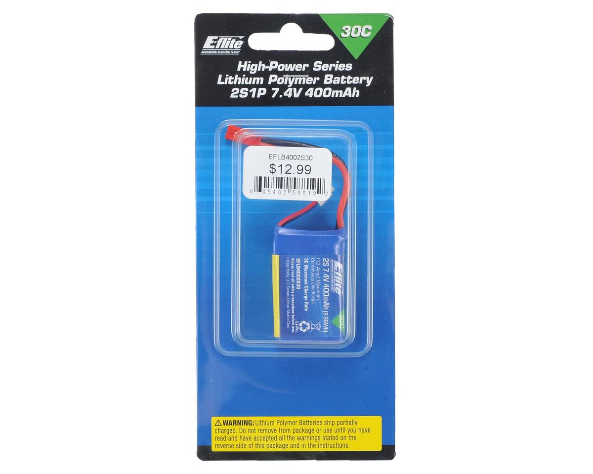 E-flite 2s LiPo Battery Pack 30C (7.4V/400mAh)