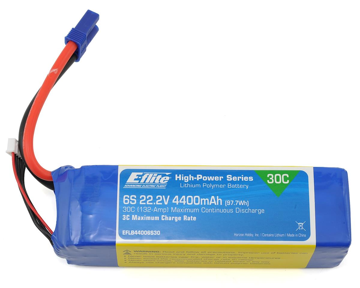 6s LiPo Battery Pack 30C w/EC5 (22.2V/4400mAh) by E-flite