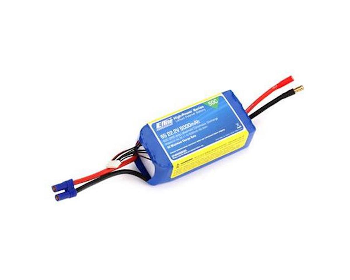 E-flite 5000mAh 6S 22.2V 50C LiPo, 10AWG EC5 (Blade Fusion 480)