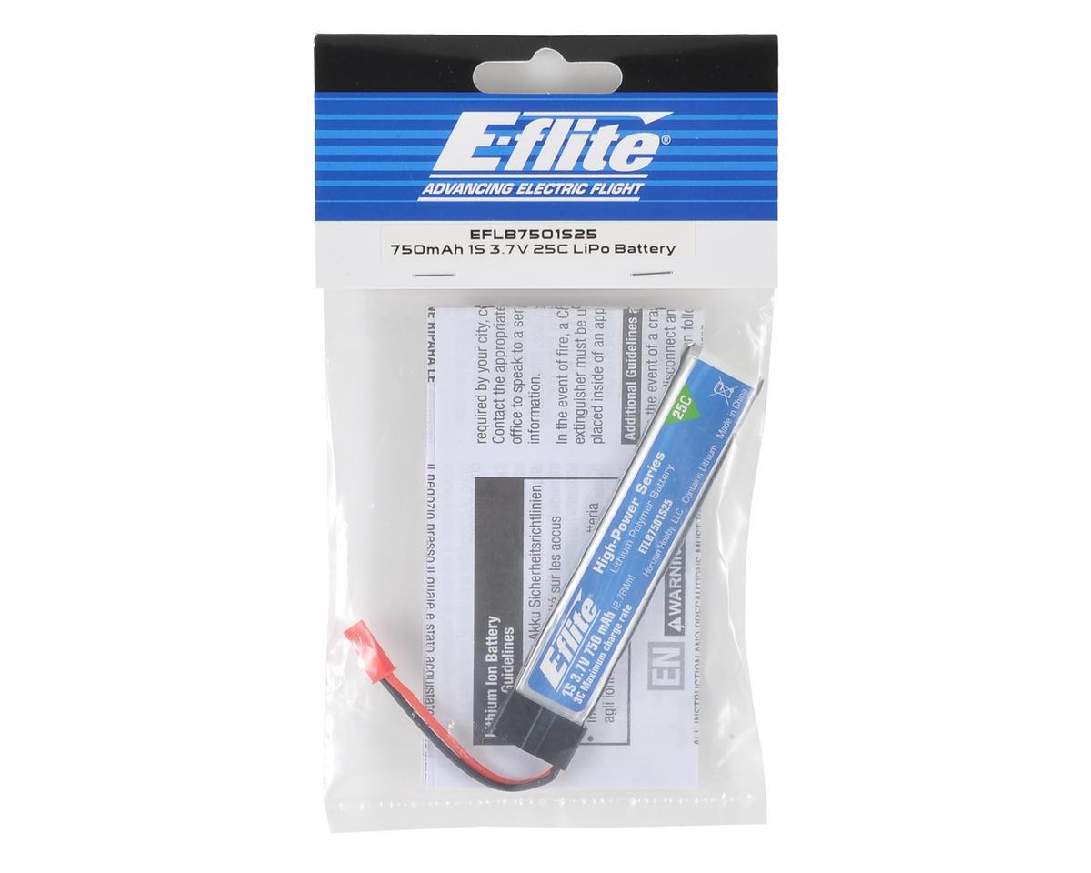 E-Flite Batterie E-Flite Li-Po 1S 3.7V 750 mA JST EFLB7501S25