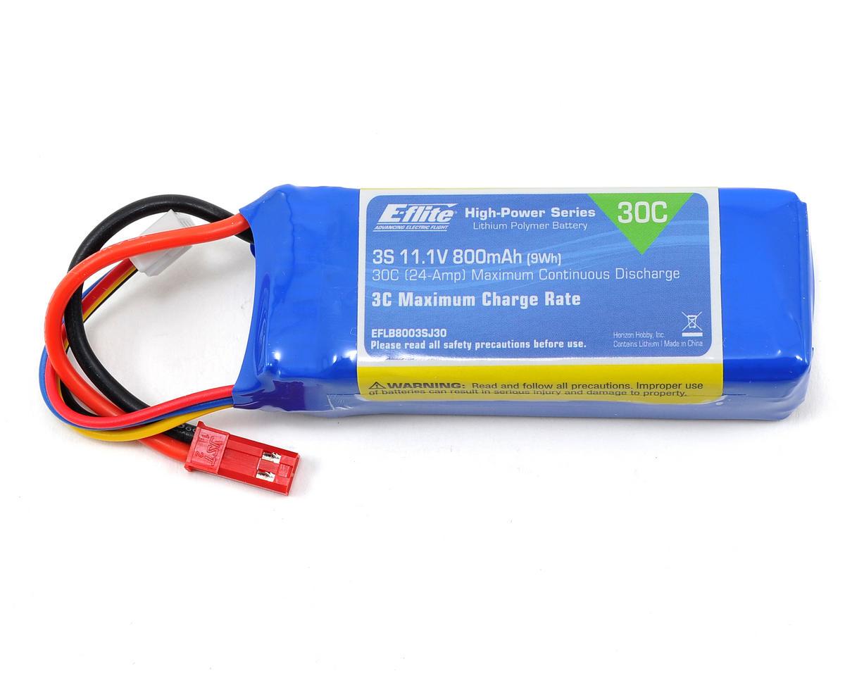 E-flite 3S LiPo Battery Pack 30C (11.1V/800mAh)