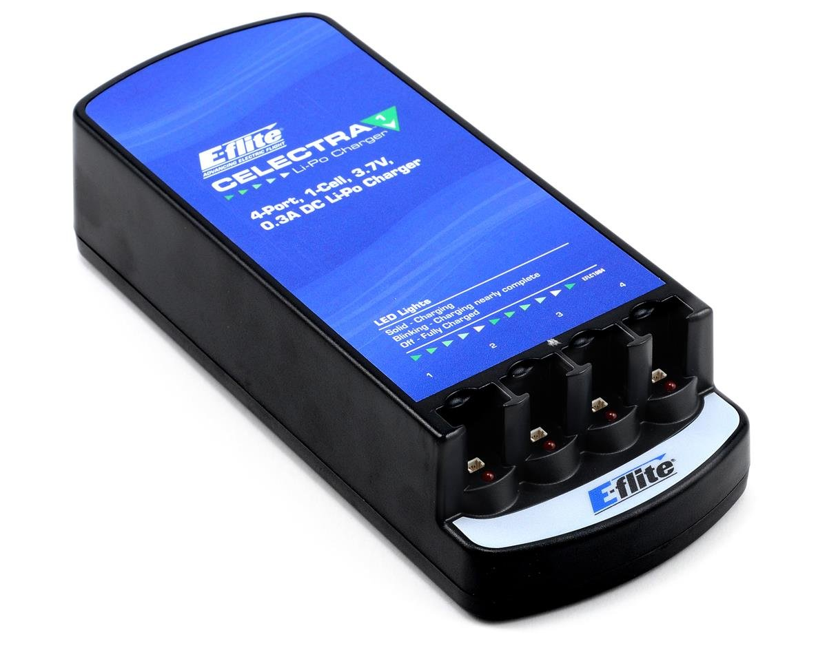 1 Cell Lipo Battery Charger Best Photos Balancer Helipal Celectra 4 Port 3 7v 0 3a Dc By E Flite