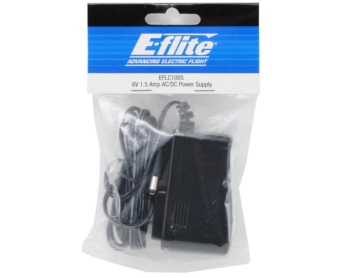 E-flite 1.5 Amp 6V AC/DC Power Supply