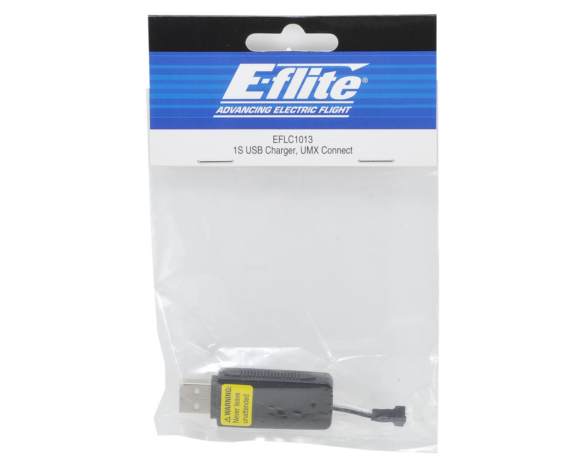 High Current UMX 1S USB LiPo Charger by E-flite
