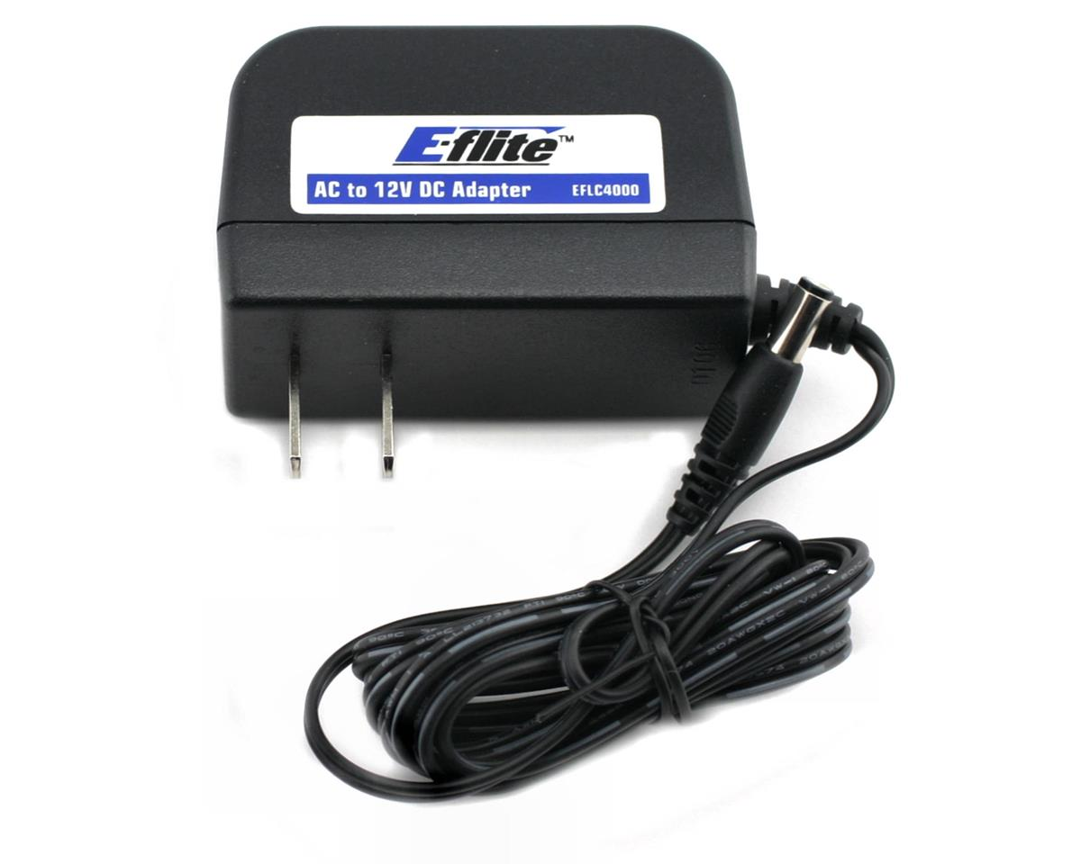 E-flite UMX Sbach 3D AC to 12VDC 1.5 Amp Power Supply