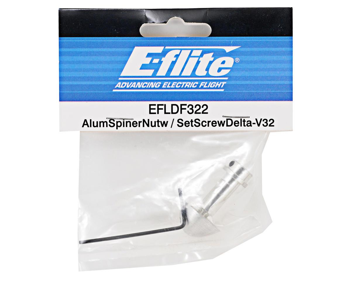 E-flite Aluminum Spinner Nut w/Set Screw (Delta-V 32)
