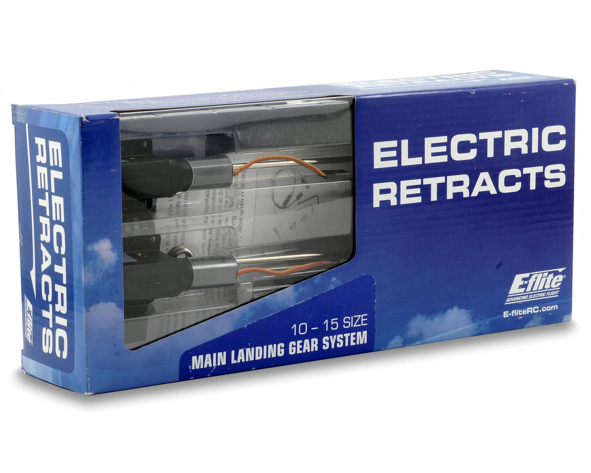 E-flite 10 - 15 Size Main Electric Retract Set