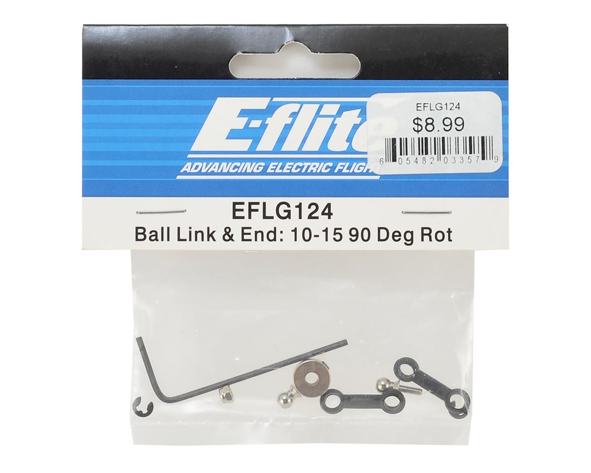 E-flite 90 Degree Rot Retract Ball Link & End Set