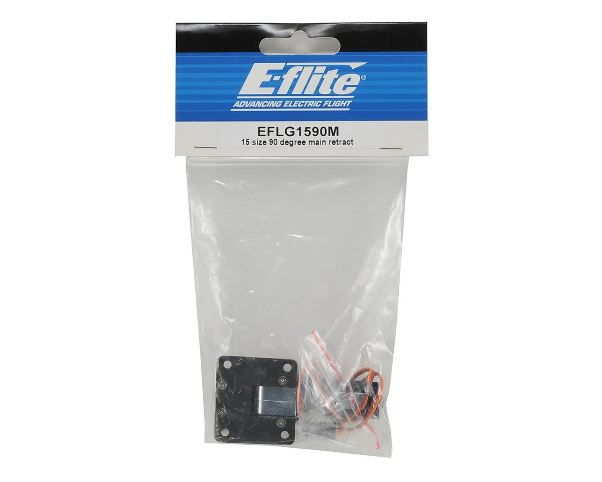 Image 2 for E-flite 15 Size 90 Degree Main Retract