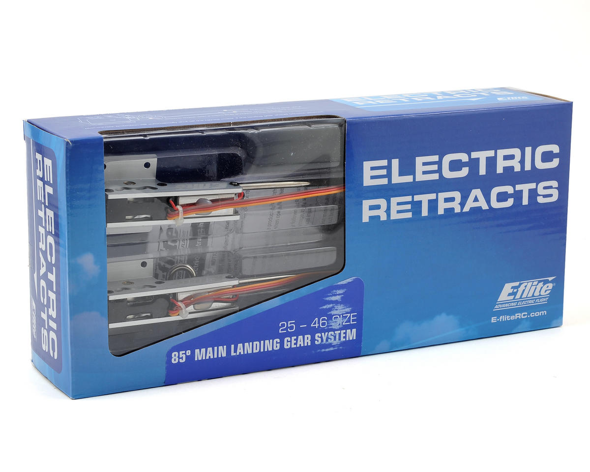 25 - 46 Size 85° Main Electric Retract Set by E-flite