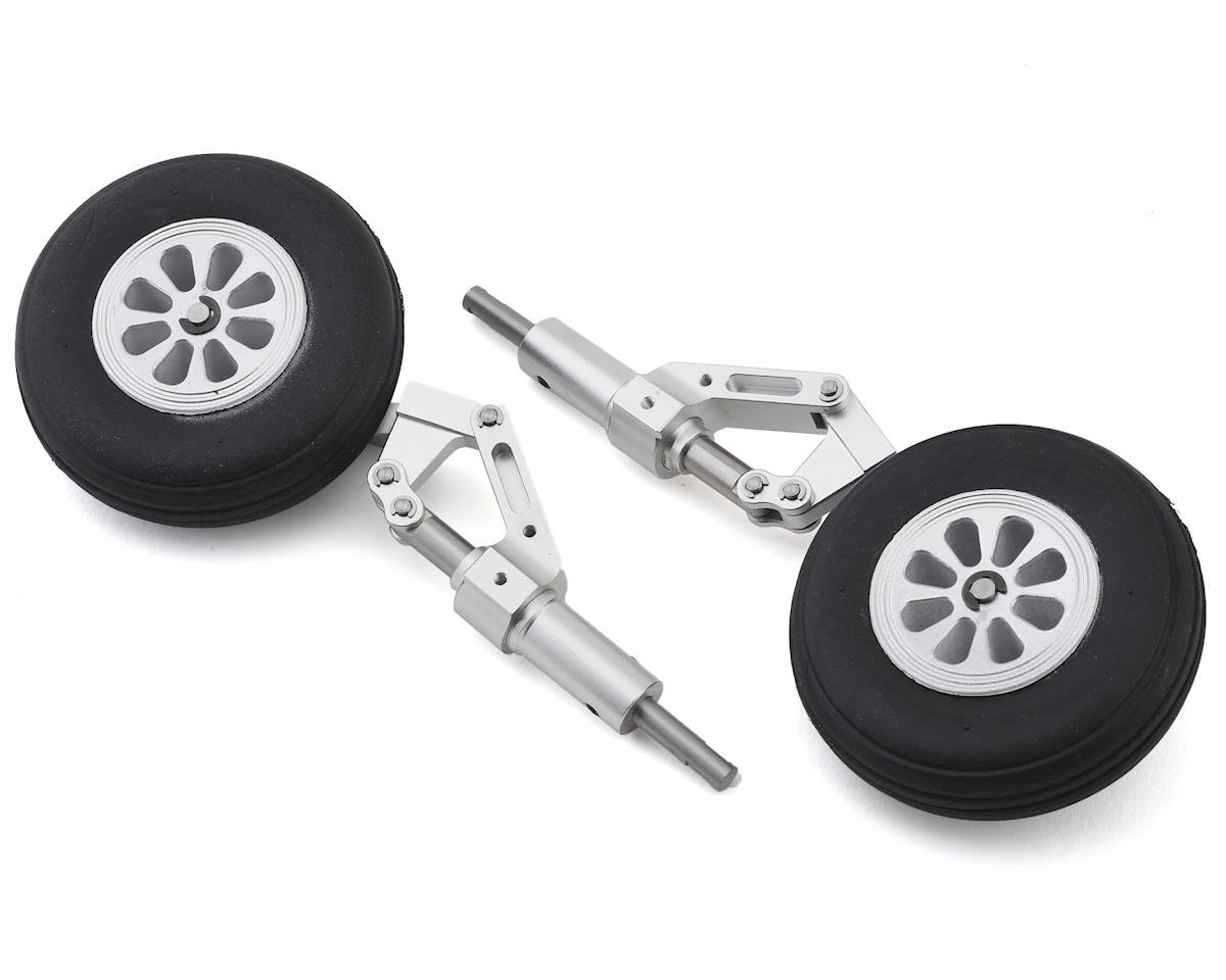 E-flite HAVOC Xe Main Struts w/Wheels (2)