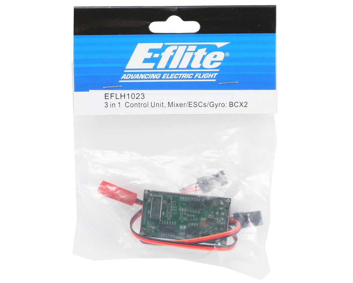 3-in-1 Control Unit w/Mixer, ESCs & Gyro (BCX2) by Blade