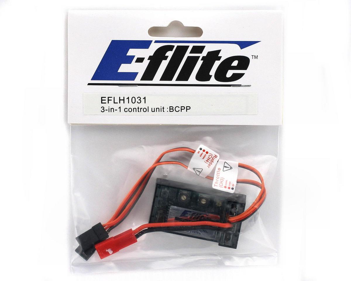 Blade Helis 3-in-1 Control Unit/Mixer/ESC/Gyro (CP Pro)