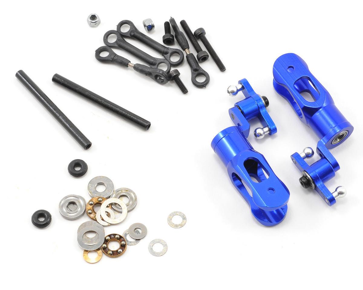 Blade Helis Aluminum Bell Mixer Upgrade Blade Grip Set