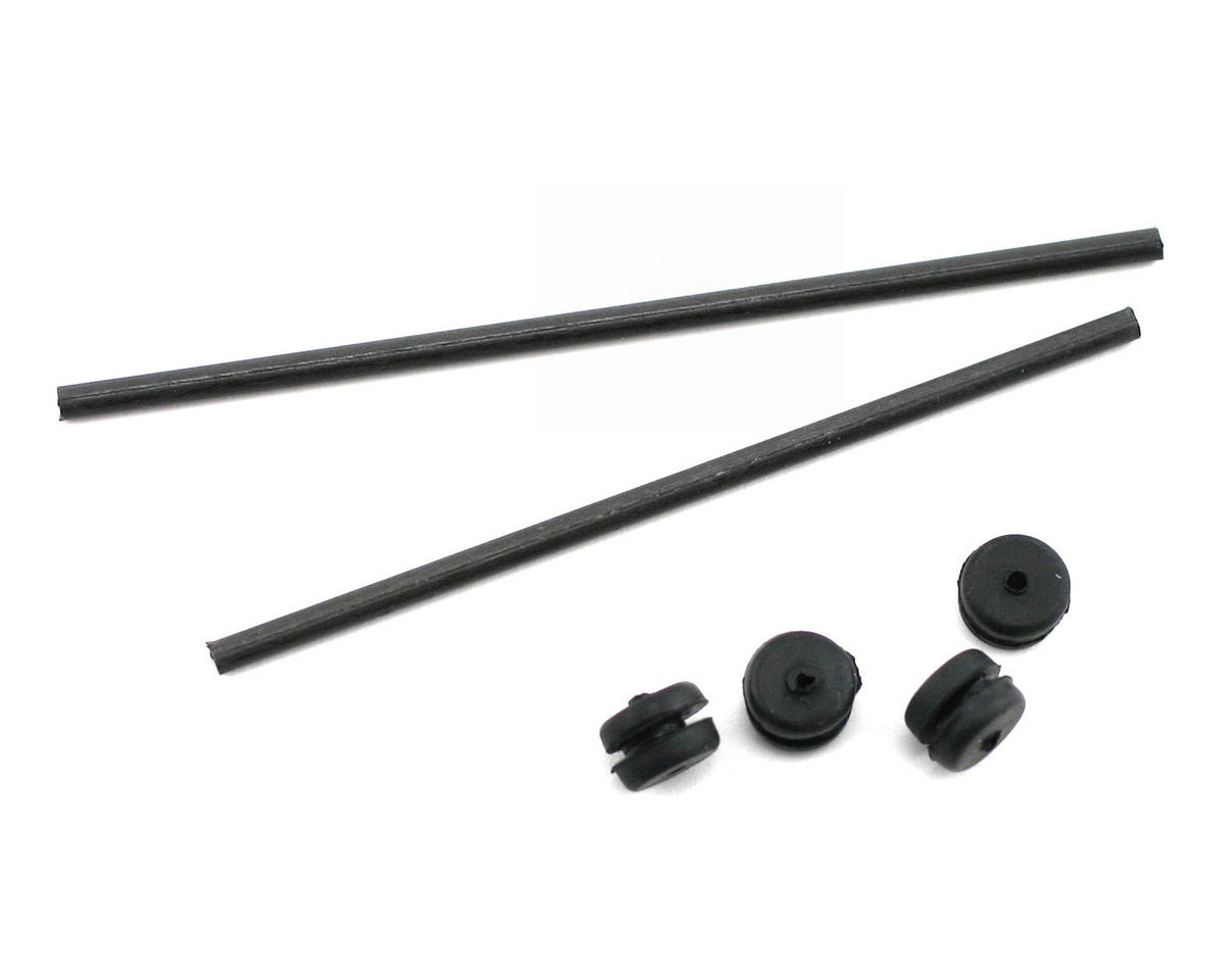 Blade CX/CX2 Helis Body Mount Rod & Grommet Set (CX)