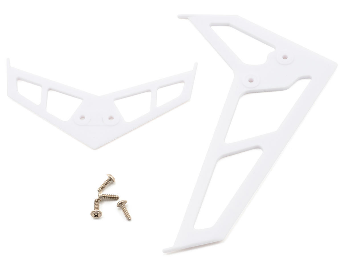Blade SR Helis Stabilizer Fin Set (White)