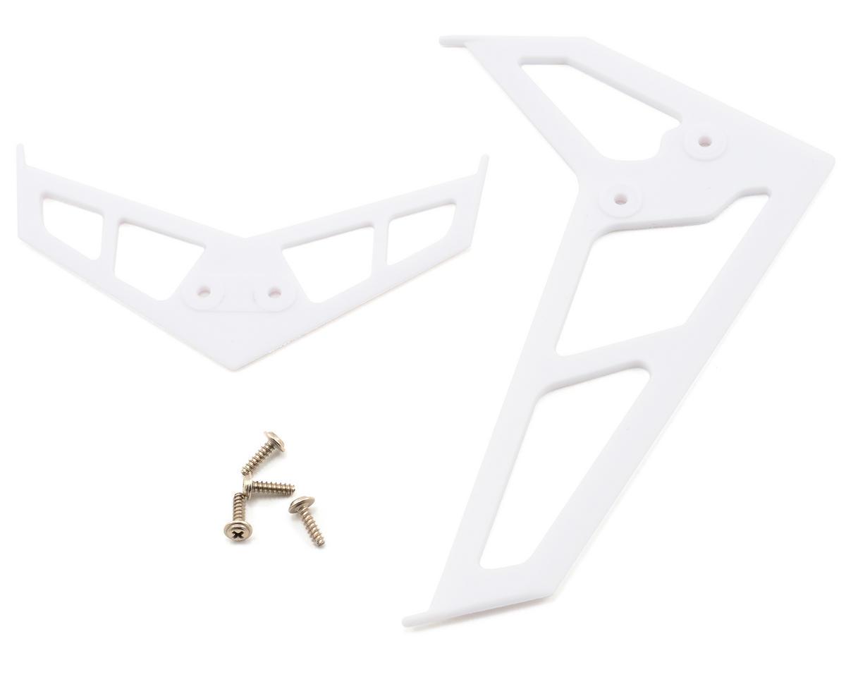 Blade CP Pro 2 Helis Stabilizer Fin Set (White)