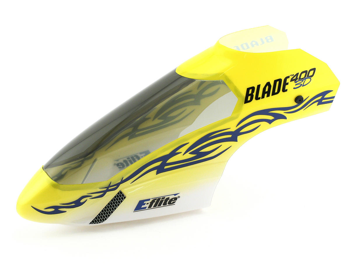 Blade Helis Body/Canopy, Tribal w/Decals (Blade 400)