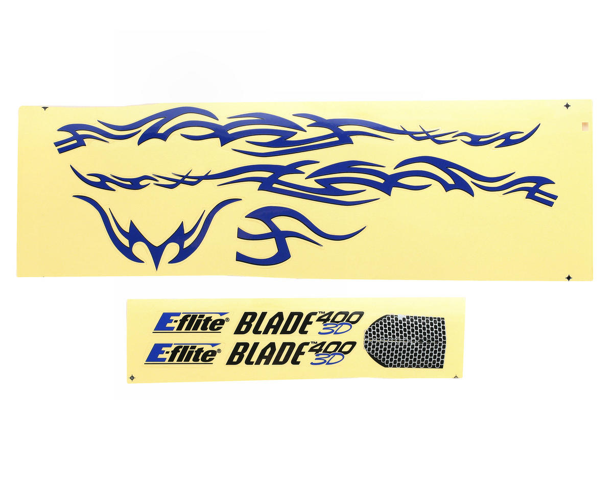 Blade Helis Decal Sheet, Tribal (Blade 400)