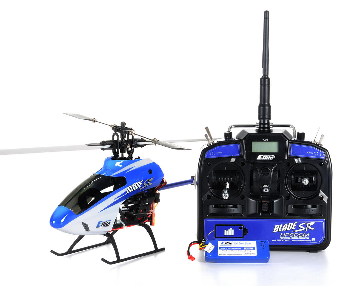 Blade Helis SR Electric Micro Helicopter (RTF)