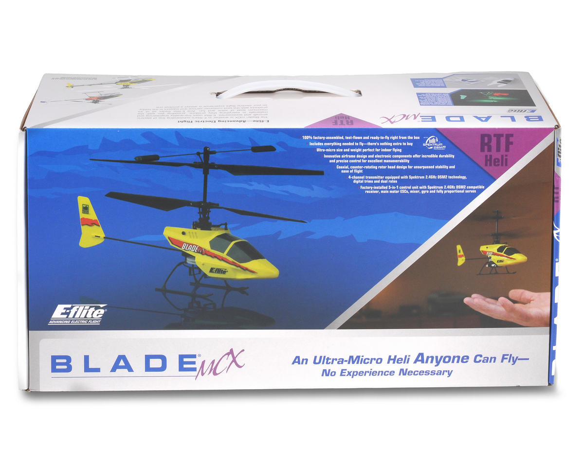 Image 4 for Blade mCX RTF Electric Coaxial Helicopter w/Spektrum DSM2