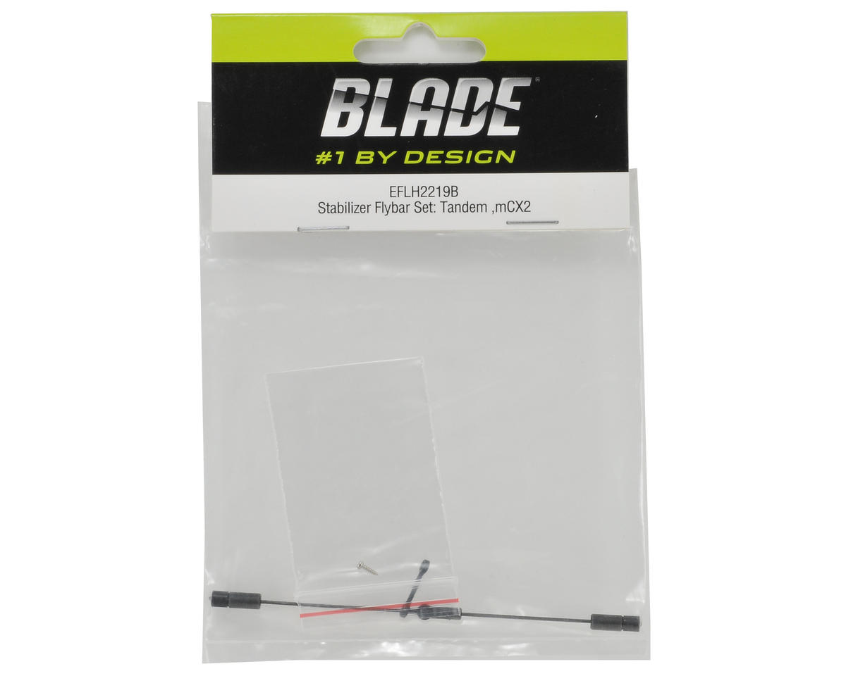 Blade Helis Stabilizer Flybar Set