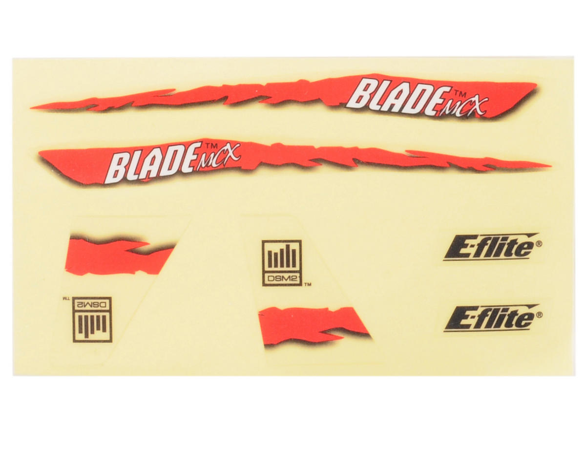 Blade Helis Graphics Decal Sheet (Red)