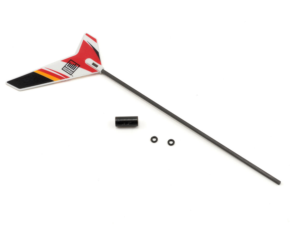 Blade Helis Carbon Fiber Tail Boom w/Fin (mCX2)