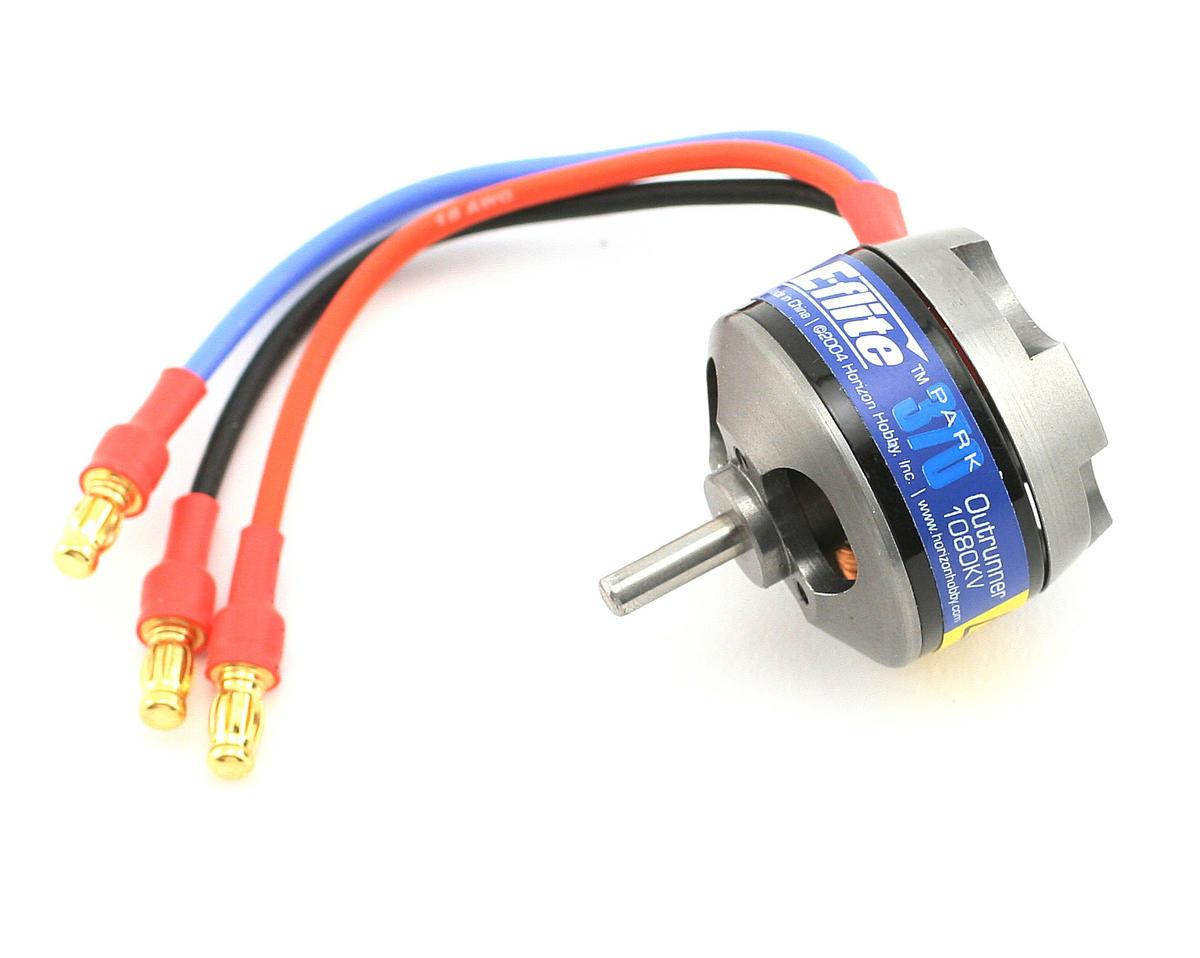 E Flite Park 370 Brushless Outrunner Motor 1080kv