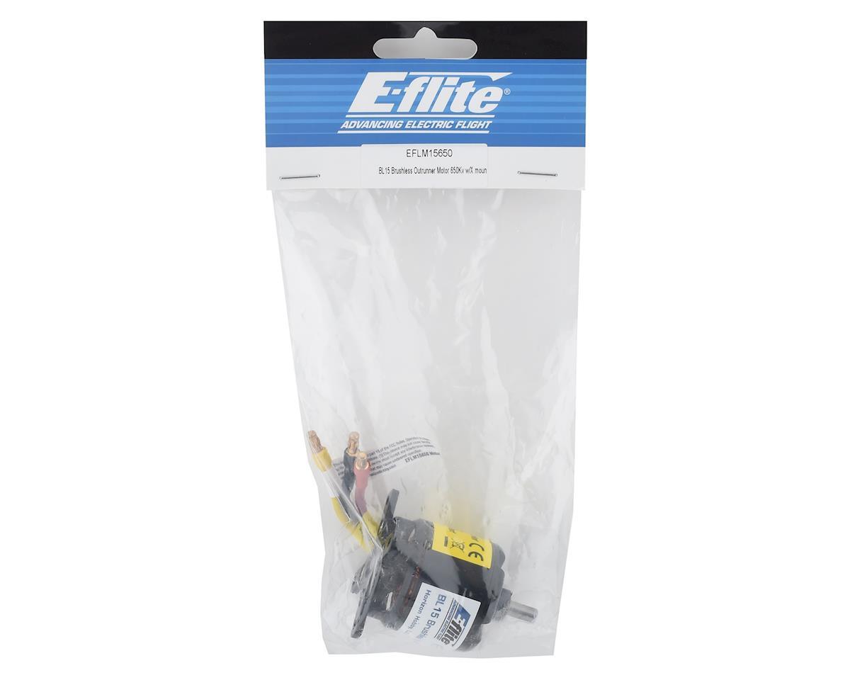 E-flite BL15 Brushless Outrunner Motor w/X Mount (650Kv)