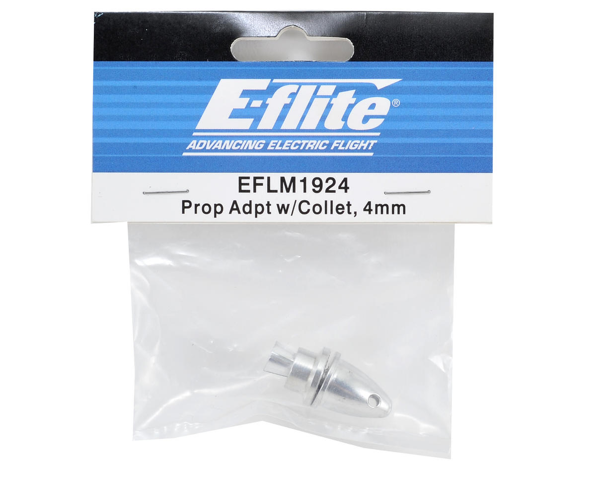 E-flite Prop Adapter w/Collet (4mm)