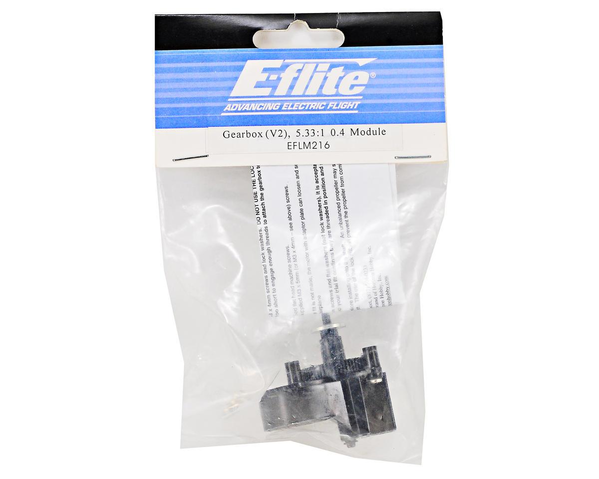 E-flite V2 Gearbox (5.33:1, 0.4 Mod)