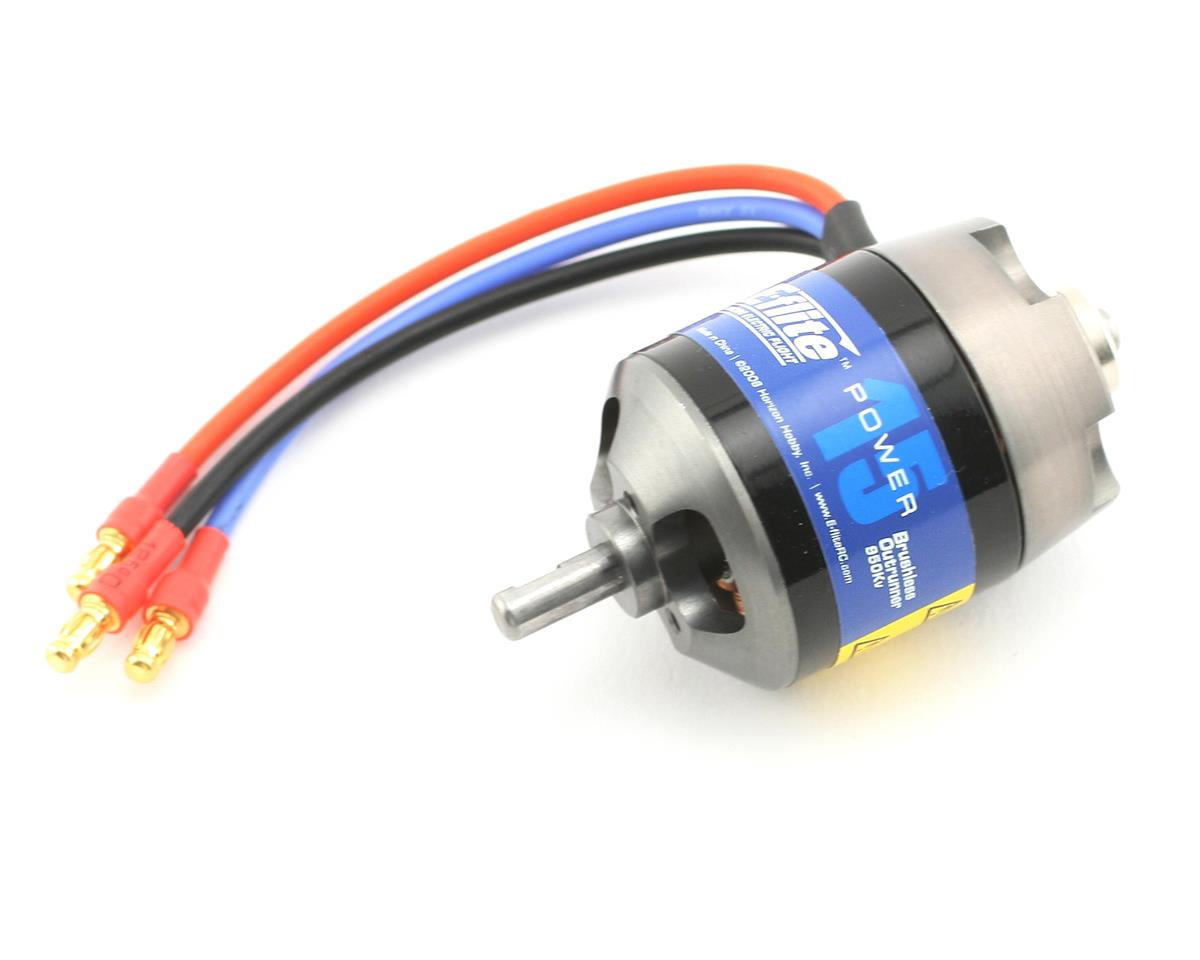 Power 15 Brushless Outrunner Motor (950kV) by E-flite