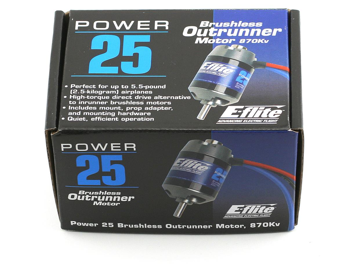 E-flite Power 25 Brushless Outrunner Motor (870kV)