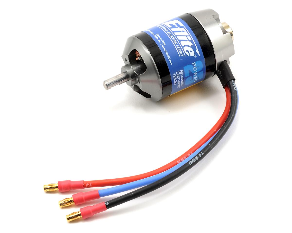 Power 25 Brushless Outrunner Motor (1250kV) by E-flite