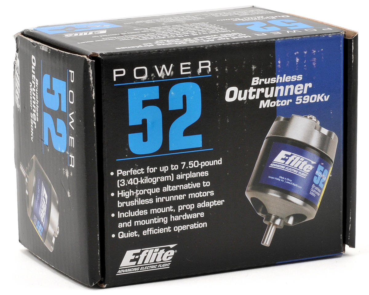 E-flite Power 52 Brushless Outrunner Motor (590kV)