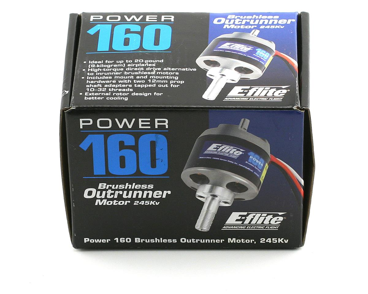 E-flite Power 160 Brushless Outrunner Motor (245kV)