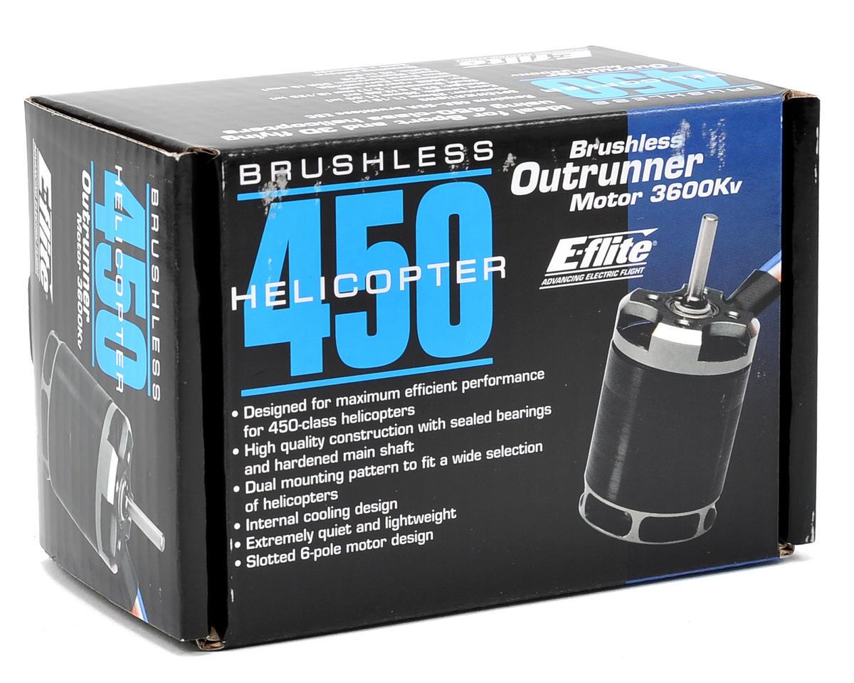 E-flite 450 Heli Brushless Outrunner Motor (3600kV)