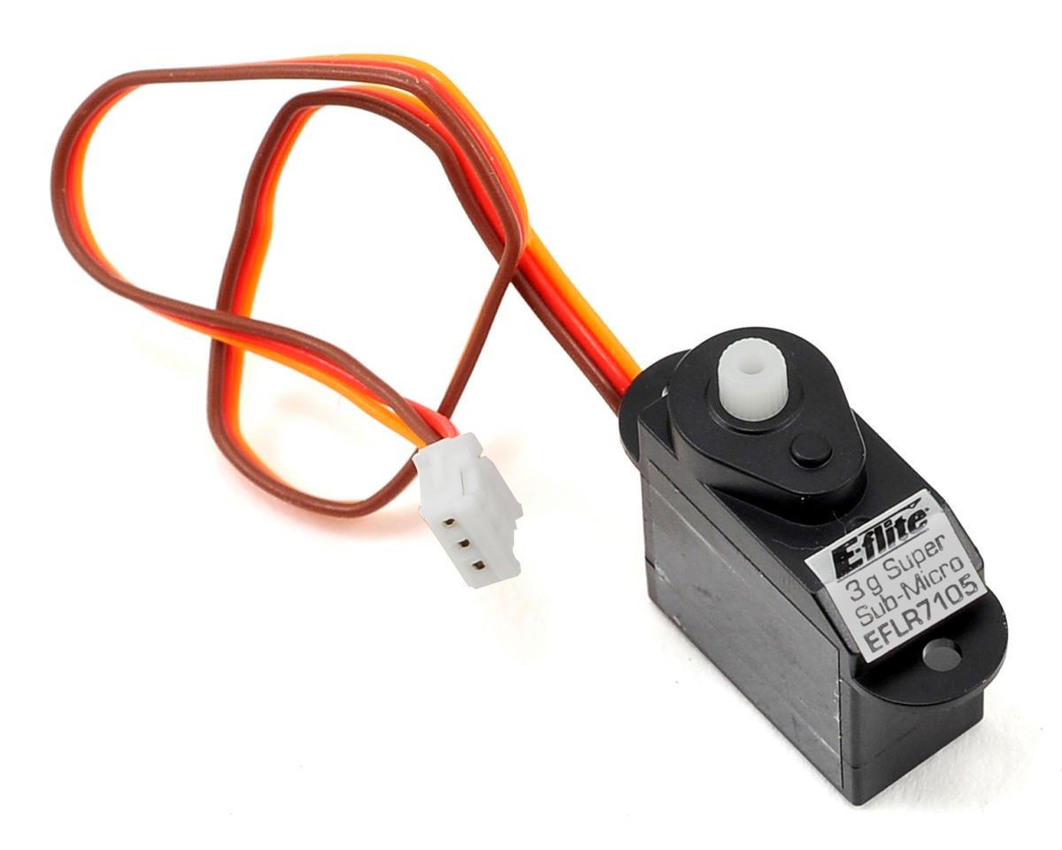3-Gram Super Sub-Micro Servo by E-flite