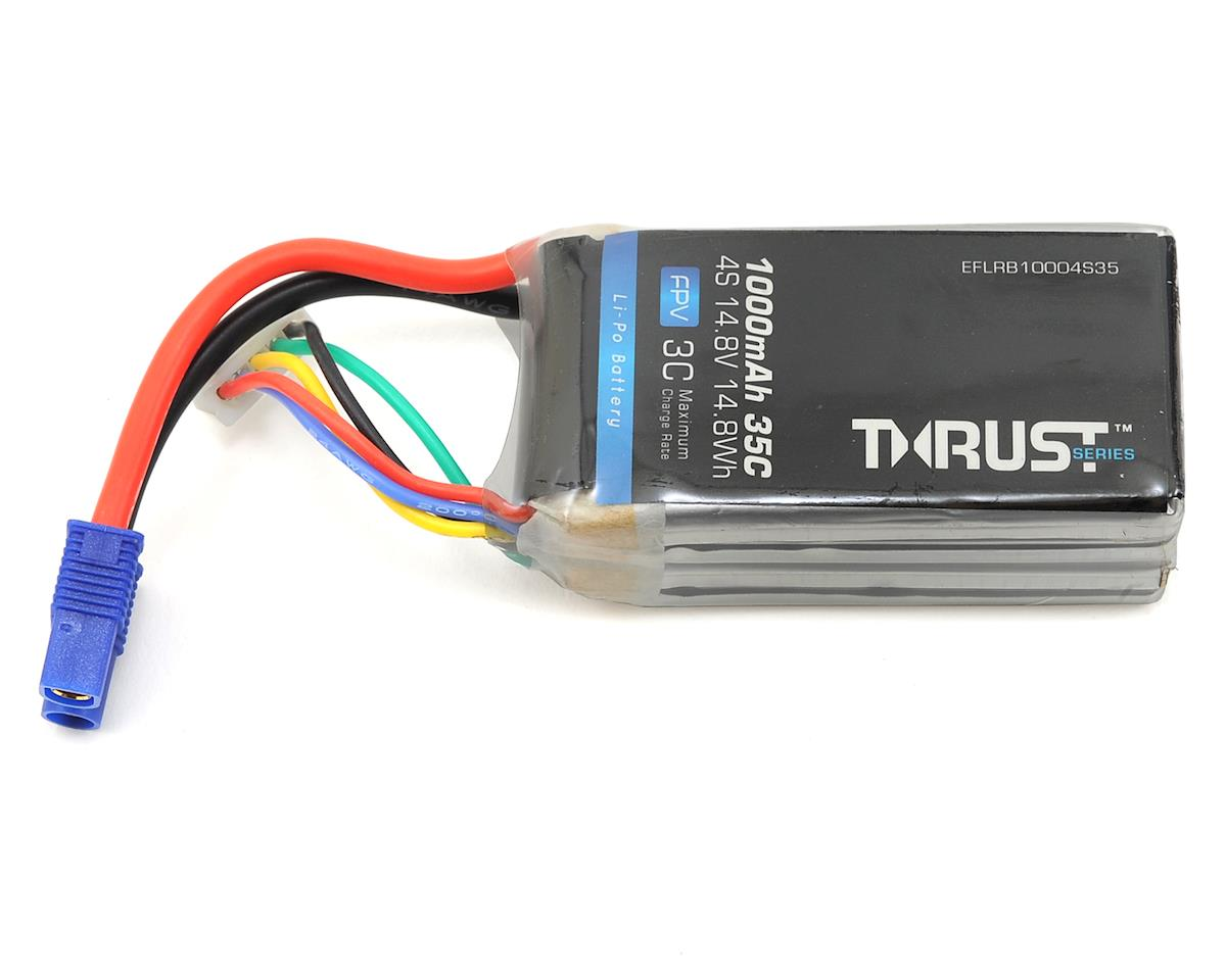 E-flite Thrust 4S 35C FPV LiPo Battery (14.8V/1000mAh)