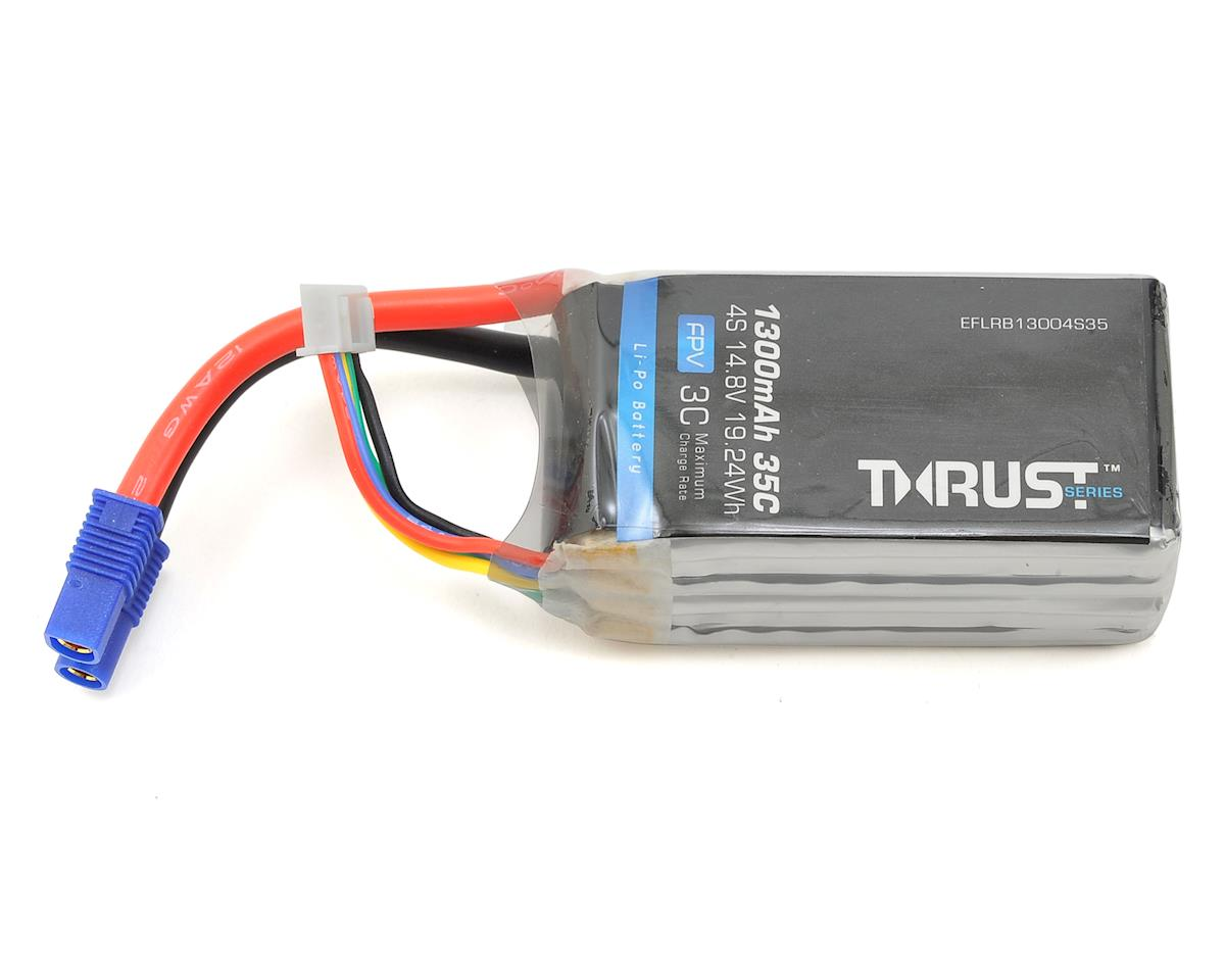 Thrust 4S 35C FPV LiPo Battery (14.8V/1300mAh) by E-flite