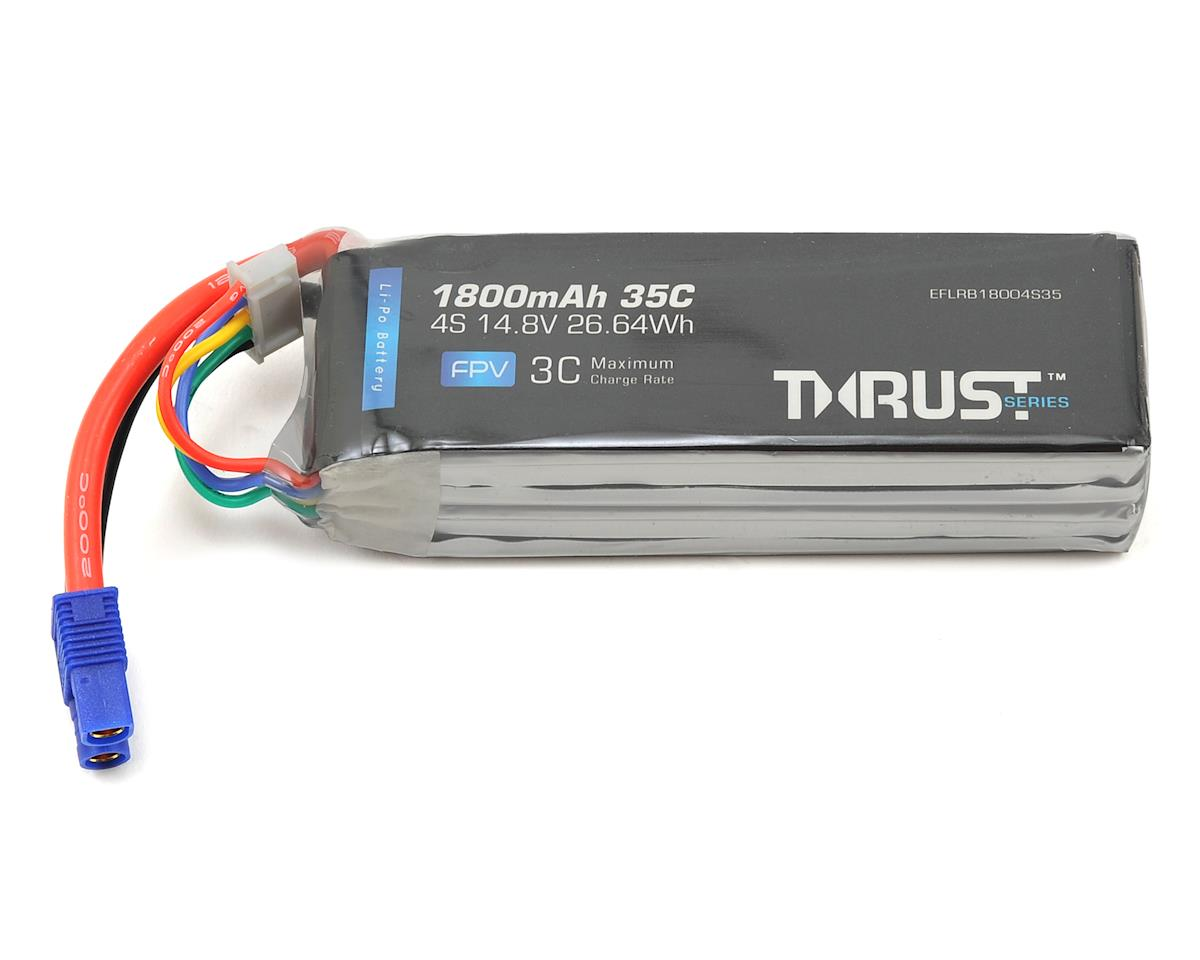 Thrust 4S 35C LiPo Battery (14.8V/1800mAh) by E-flite