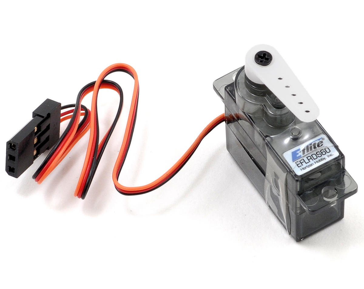 E-flite DS60 6.0-Gram Digital Super Sub-Micro Servo