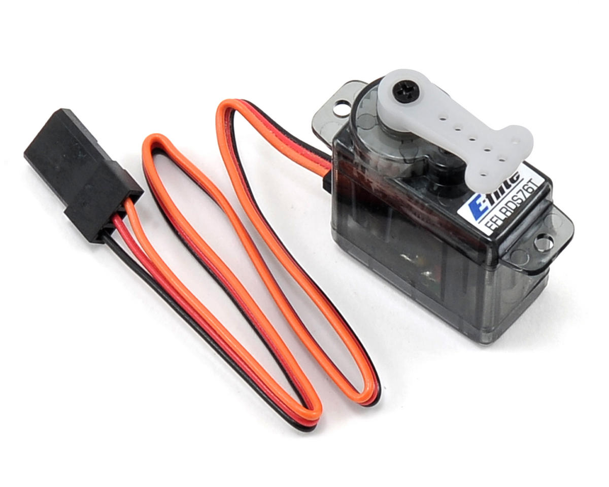 7.6-Gram Sub-Micro Digital Tail Servo by E-flite